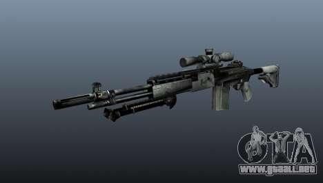 Rifle de francotirador M21 Mk14 v1 para GTA 4