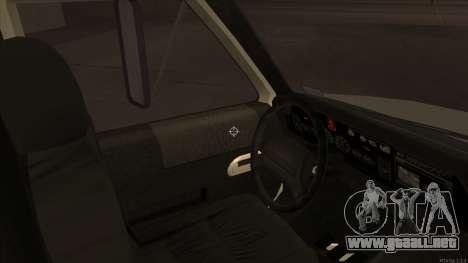 Ambulance HD from GTA 3 para GTA San Andreas vista hacia atrás