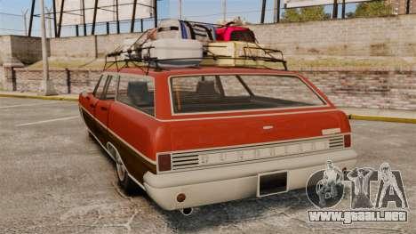 GTA V Dundreary Regina para GTA 4 Vista posterior izquierda