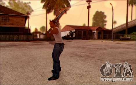 Kel′Delar para GTA San Andreas tercera pantalla