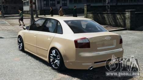 Audi S4 2004 para GTA 4 left