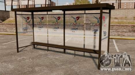 Paradas de autobús Naruto para GTA 4 quinta pantalla