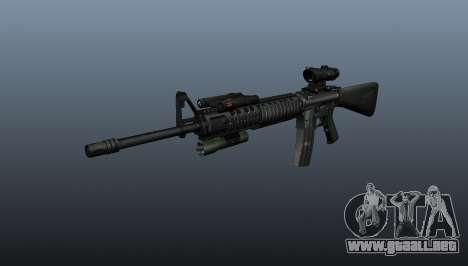 Rifle de asalto M16A4 AEG para GTA 4