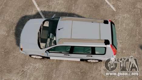 Nissan X-Trail para GTA 4 visión correcta