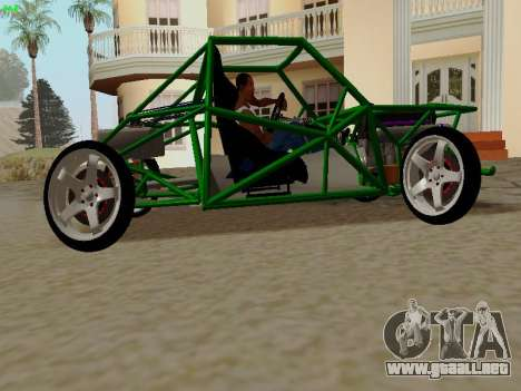 Nocturnal Motorsports Coyote para GTA San Andreas left