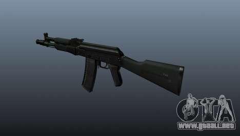 AK-102 para GTA 4 segundos de pantalla