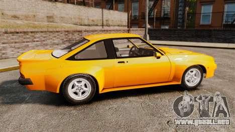 Opel Manta para GTA 4 left