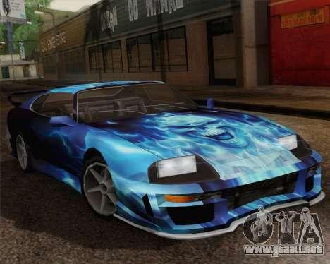 Los trabajos de pintura de bufón para la visión correcta GTA San Andreas