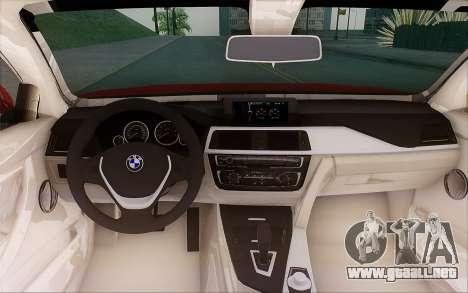 BMW 435i para visión interna GTA San Andreas