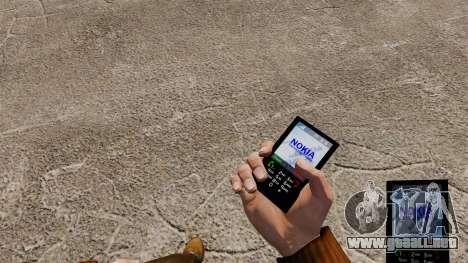 Tema para teléfonos Nokia para GTA 4