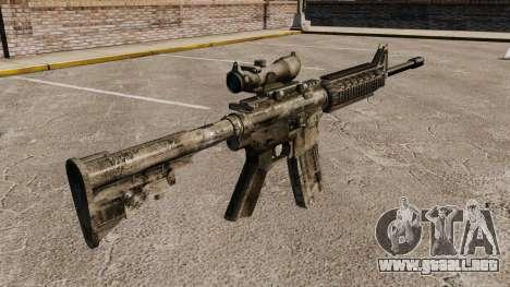 Automático carabina M4A1 para GTA 4 segundos de pantalla