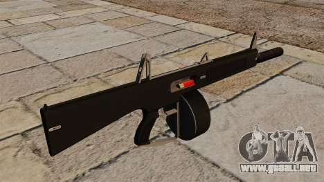 La escopeta AA-12 con un silenciador para GTA 4 segundos de pantalla