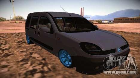 Renault Kangoo 2005 v1.0 TMC para GTA San Andreas