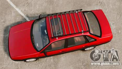 Volkswagen Passat B3 1995 para GTA 4 visión correcta