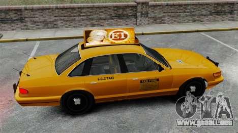 Real publicidad en taxis y autobuses para GTA 4 undécima de pantalla