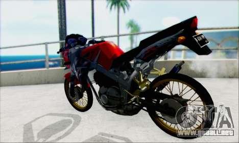 Kawasaki 150L Ninja Series para GTA San Andreas left