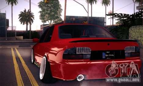 Proton Wira Hype para visión interna GTA San Andreas