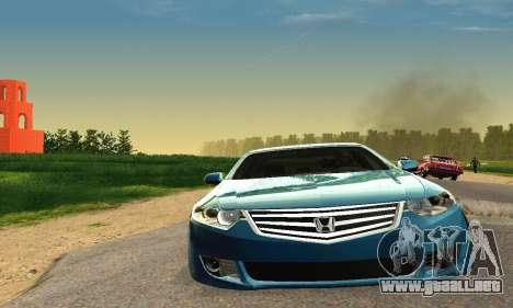 Honda Accord Tuning para la visión correcta GTA San Andreas