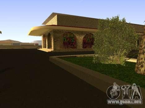 Estación de ferrocarril Las Venturas v1.0 para GTA San Andreas tercera pantalla