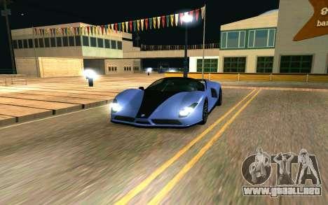 El guepardo de GTA 5 para GTA San Andreas