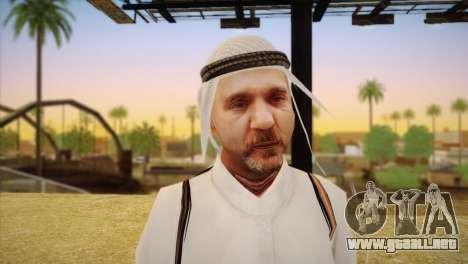 Jeque Árabe para GTA San Andreas tercera pantalla