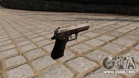 Pistola Jericho 941 para GTA 4 segundos de pantalla