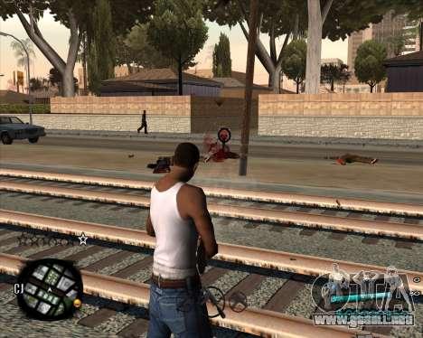 C-HUD by Menson para GTA San Andreas