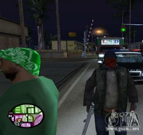 Vagos para GTA San Andreas tercera pantalla