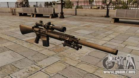 El rifle de sniper M110 para GTA 4