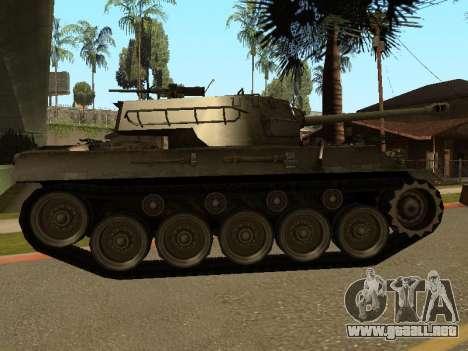 M18-Hellcat para GTA San Andreas vista posterior izquierda
