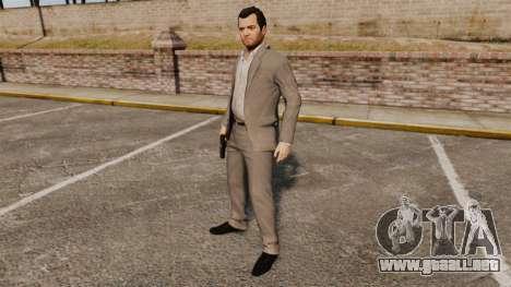 Michael de Santa para GTA 4 sexto de pantalla