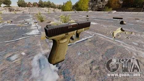 Pistola semiautomática Glock 19 para GTA 4 segundos de pantalla