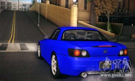 Honda S2000 para vista lateral GTA San Andreas