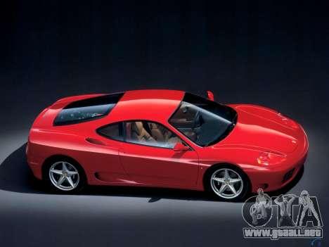Sonido de un motor de Ferrari para GTA 4 tercera pantalla