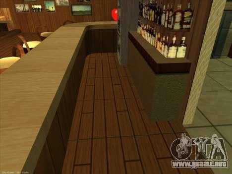 Nuevas texturas para interior para GTA San Andreas sucesivamente de pantalla