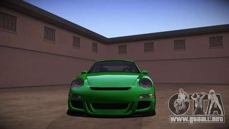 Porsche 911 TT Ultimate Edition para GTA San Andreas vista hacia atrás