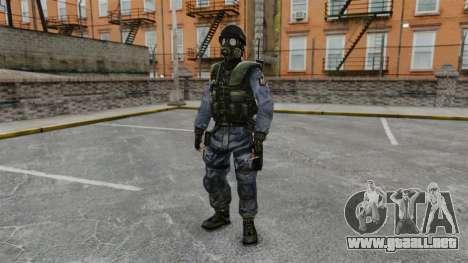 Inglés comando SAS para GTA 4
