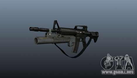 Automático carabina M4A1 v1 para GTA 4