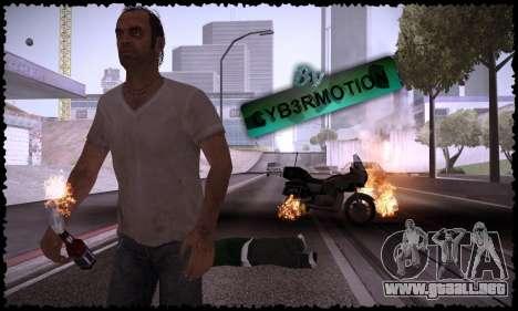 Trevor, Michael, Franklin para GTA San Andreas quinta pantalla