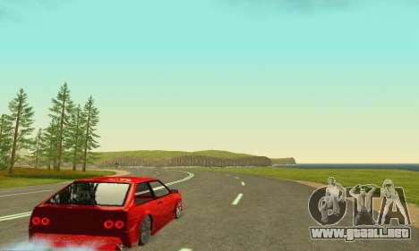 VAZ 2108 Aarr estilo para GTA San Andreas vista hacia atrás