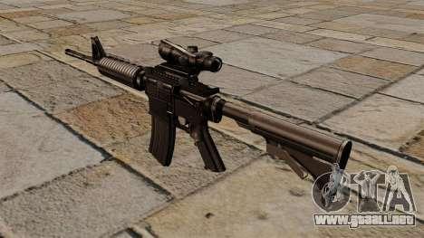 Automático carabina M4A1 ACOG para GTA 4 segundos de pantalla