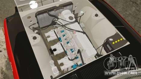 Datsun 240Z 1971 East African Safari para GTA 4 vista interior
