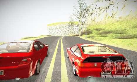 Honda CRX - Stock para la visión correcta GTA San Andreas