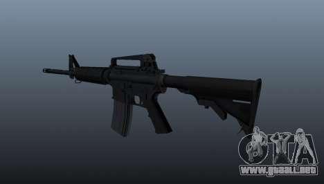 Carabina M4 para GTA 4 segundos de pantalla