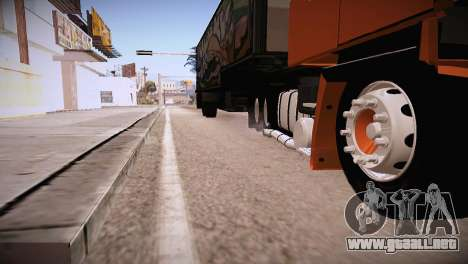 Scania LK 141 6x2 para la visión correcta GTA San Andreas