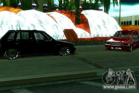 Fiat Uno 2010 Clase 4 para GTA San Andreas left
