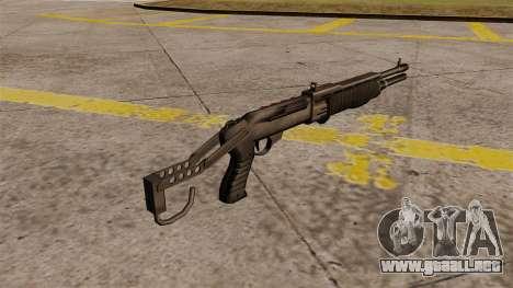 Escopeta Franchi SPAS-12 Armageddon para GTA 4 segundos de pantalla