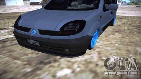 Renault Kangoo 2005 v1.0 TMC para la visión correcta GTA San Andreas