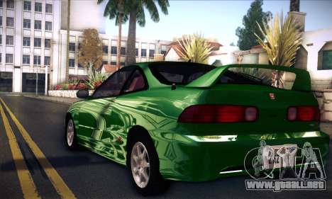 Honda Integra Normal Driving para GTA San Andreas left