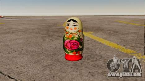 Muñeca rusa Granada para GTA 4